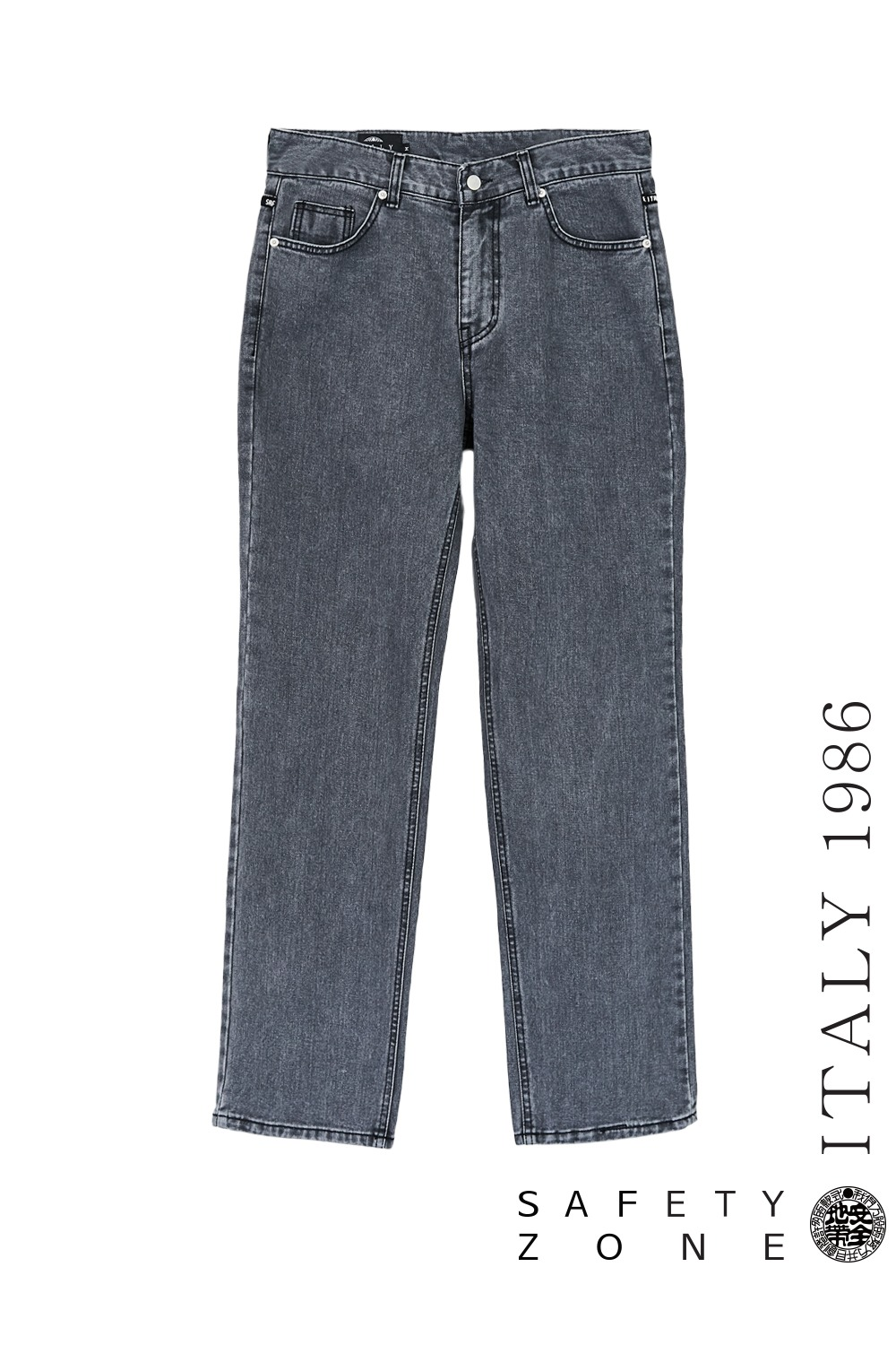 [BL P] DENIM PANTS (GRAY)